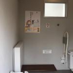 市民会館裏のトイレ多機能